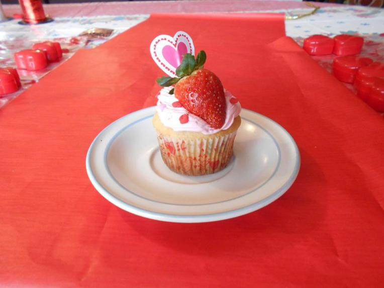 cupcake 14 de febrero