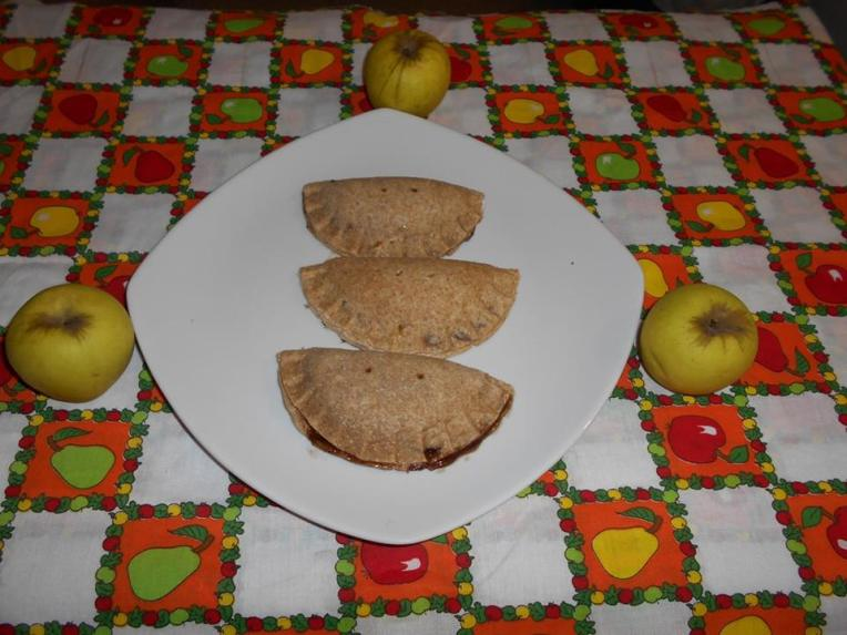 empanadas integrales de manzana