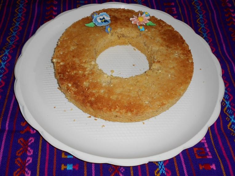 foto pan de elote de yucatan