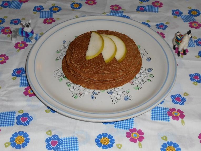 hot cakes de avena y quinoa