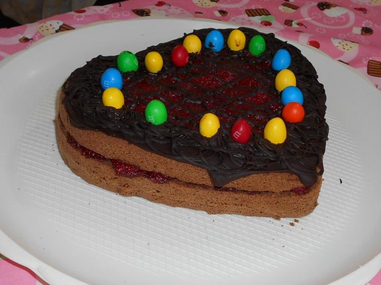 chocolate italian esponje cake