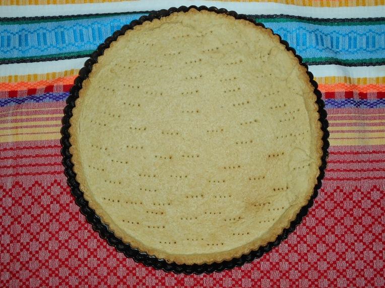 pasta sable de vainilla foto