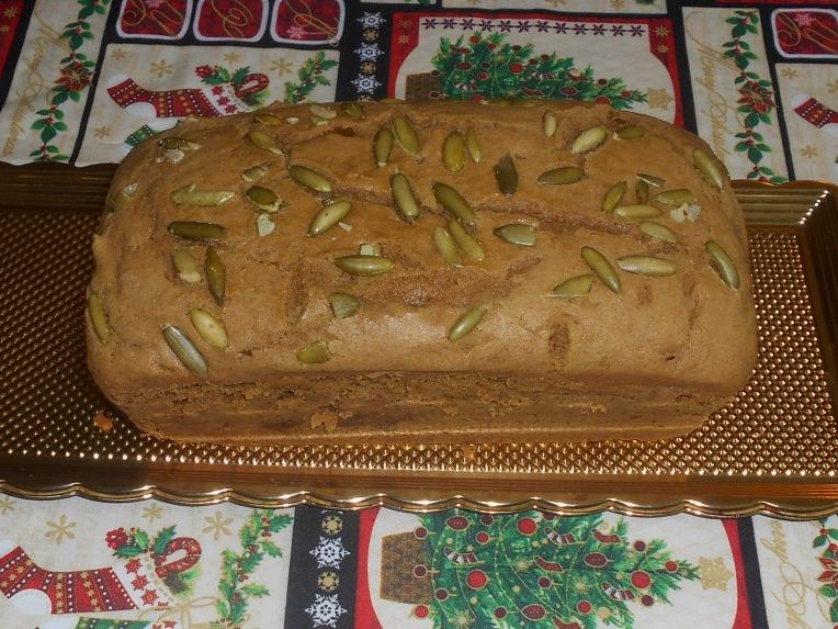 facil y delicioso pan de calabaza
