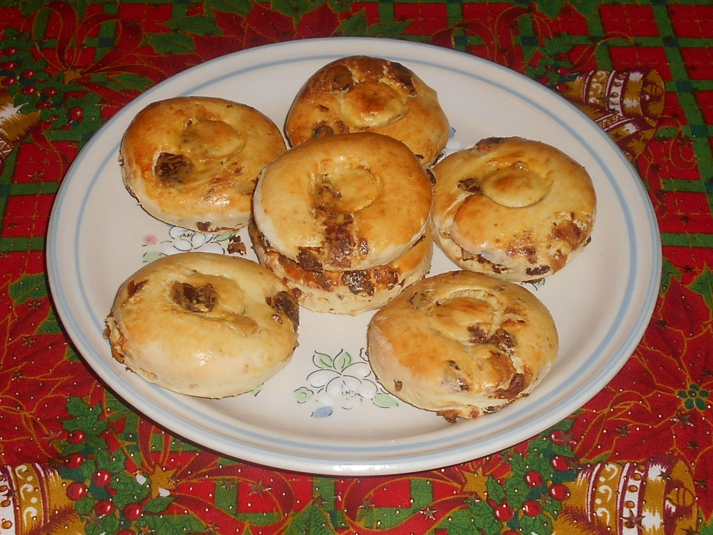 bisquets con gengibre y datiles