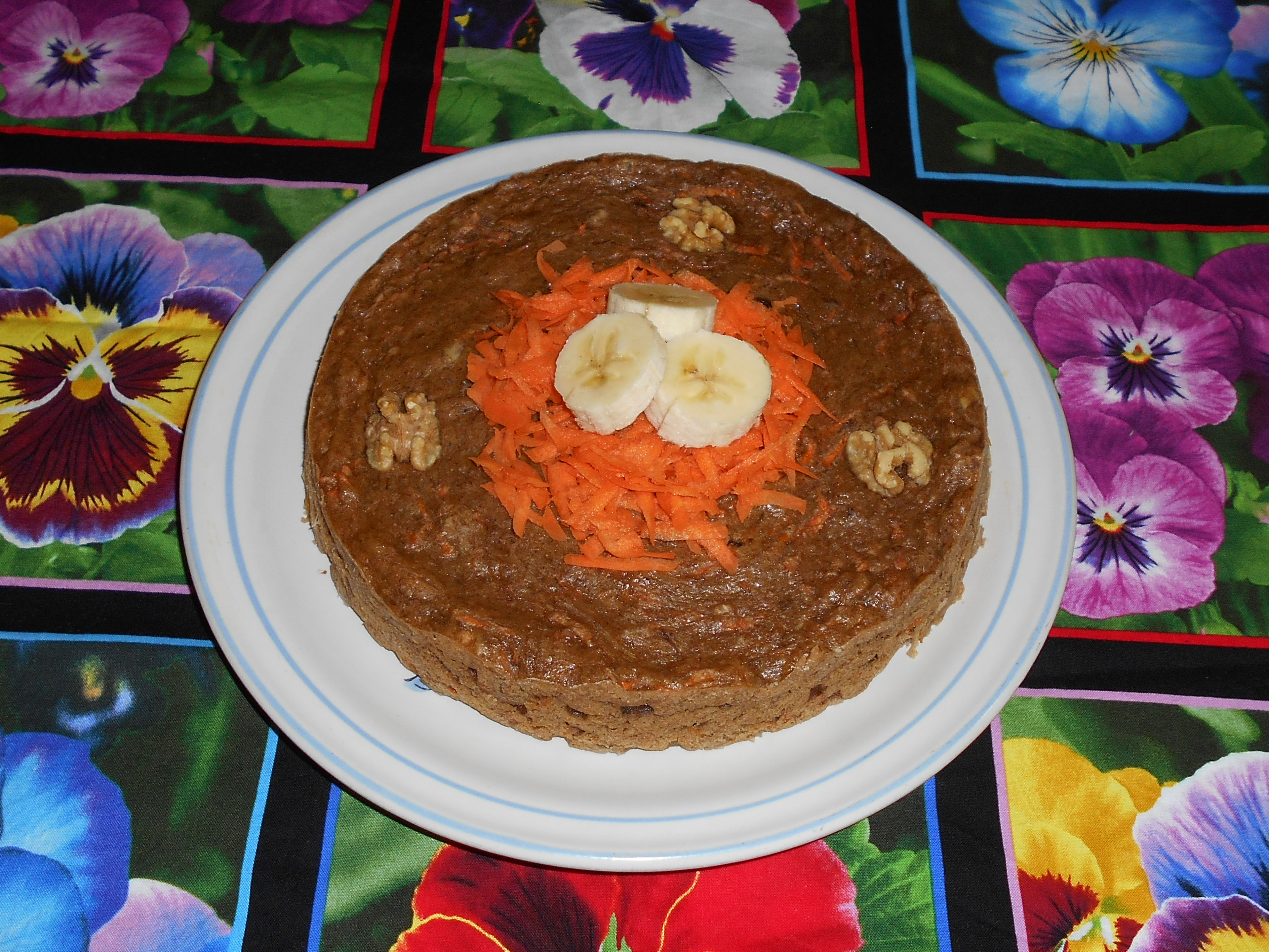 pan de platano y zanahoria de mama